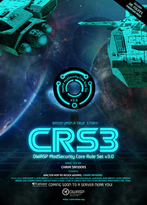CRS3 Release Poster