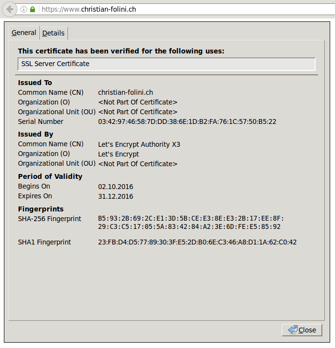 Konfigurieren eines SSL Servers – Welcome to netnea
